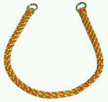 "Load image into Gallery viewer, 1/4"" Professional Show Collar  Lime Green/Orange"