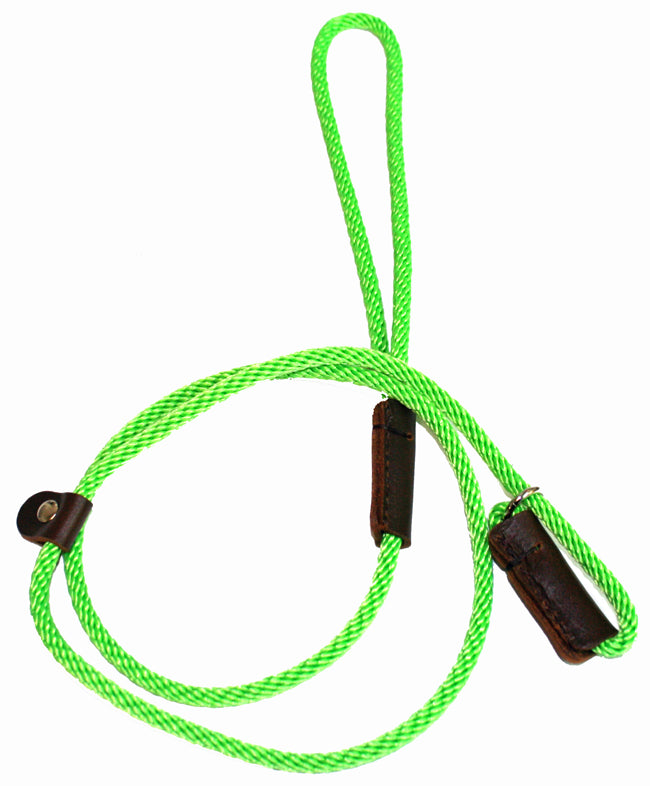 1/4 Solid Braid (Round) Slip Lead Lime Green