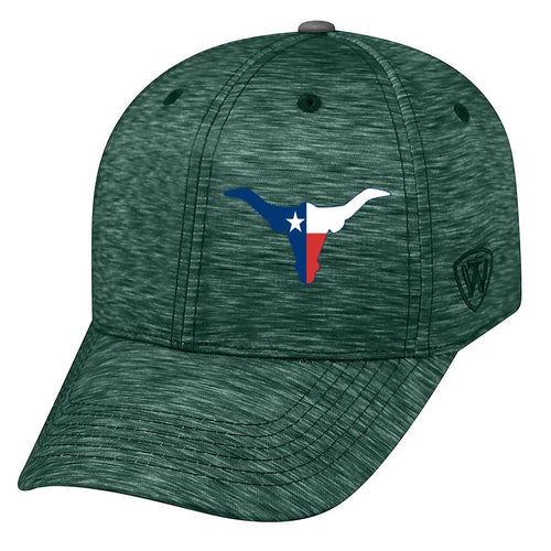 Memory Fit Cap Top of the World 5500 - Energy Embroidered Texas Longhorn 8 Color Choices