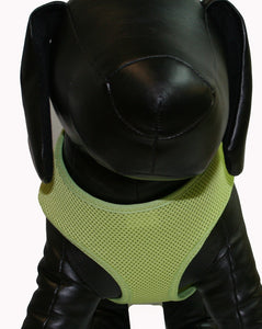 Soft Mesh Pet Harness-Lime Green