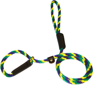 "3/8"" Solid Braid Slip Lead Mardi Gras"