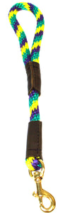 "1/2"" Solid Braid Traffic Lead Mardi Gras"