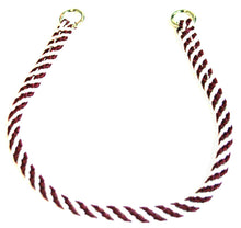 "Load image into Gallery viewer, 1/4"" Professional Show Collar  Maroon/White"