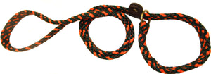 "5/8"" Flat Braid Slip Lead Orange Camouflage"