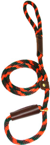 "3/8"" Solid Braid Slip Lead Orange Camouflage"