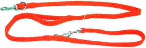 "5/8"" Multi Purpose Leash Orange"