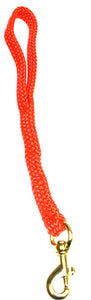"5/8"" Flat Braid Traffic Lead Orange"