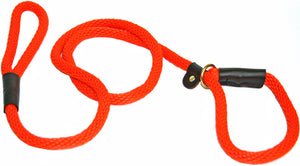 "1/2"" Solid Braid Slip Lead Orange"