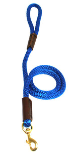 "1/2"" Solid Braid Snap Lead Pacific Blue"