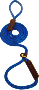 "3/8"" Solid Braid Slip Lead Pacific Blue"