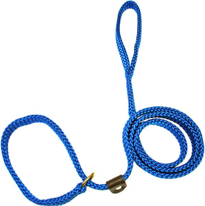 "5/8"" Flat Braid Slip Lead Pacific Blue"