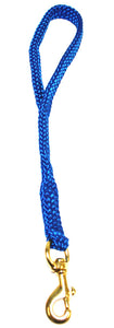 "5/8"" Flat Braid Traffic Lead Pacific Blue"