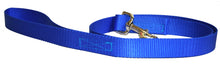 Load image into Gallery viewer, Webbing Dog Leash Pacific Blue