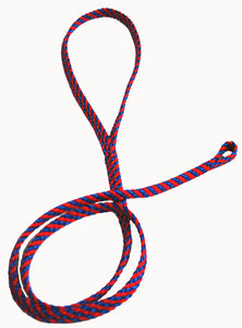 "1/4"" Professional Show Loop Pacific Blue/Red"