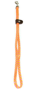 "1/4"" Flat Braid Grooming Loop Pink Lemonade"