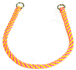 "1/4"" Professional Show Collar  Pink/Yellow"