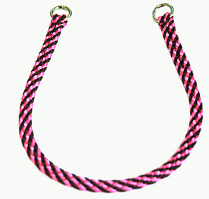 "1/4"" Professional Show Collar  Pink/Brown"