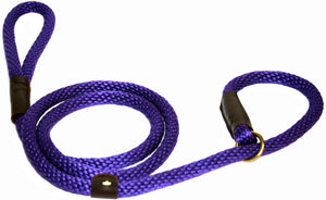 "1/2"" Solid Braid Slip Lead Purple"
