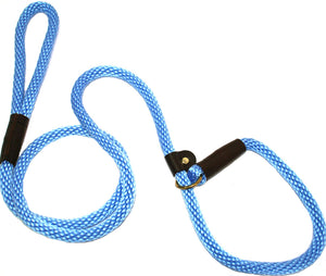 "1/2"" Solid Braid Slip Lead Sky Blue"