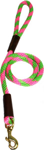 "1/2"" Solid Braid Snap Lead Watermelon"