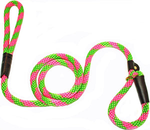 "1/2"" Solid Braid Slip Lead Watermelon"