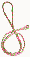 "Load image into Gallery viewer, 1/4"" Professional Show Loop Pink/Lime"