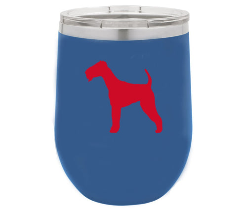 Airedale 12 oz Vacuum Insulated Stemless Wine Glass