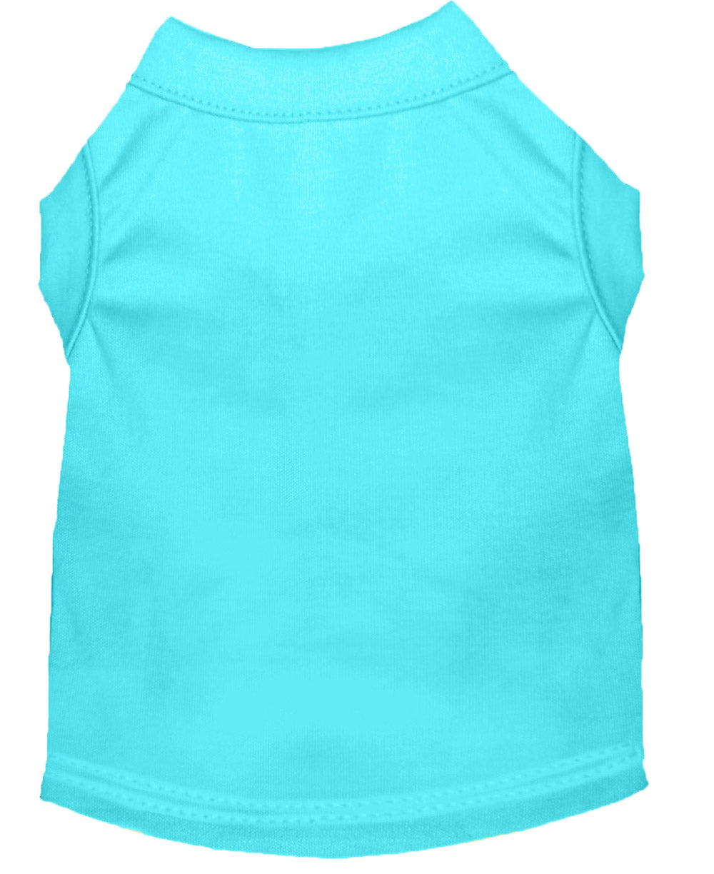 Plain Dog Shirt Aqua