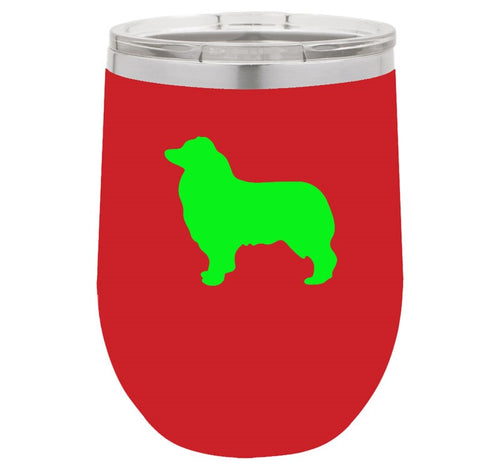 Dog Breed 12 Oz Vacuum Insulated Stemless Wine Glass The Leash Outlet