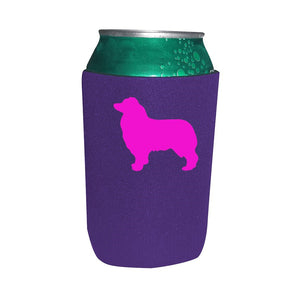 Australian Shepherd Koozie Beer or Beverage Holder