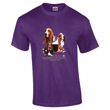"Load image into Gallery viewer, ""Just A Dog""  Breed T Shirt Bassett Hound"