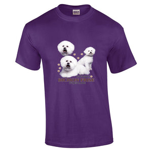 """Just A Dog""  Breed T Shirt Bichon Frise"