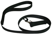 Load image into Gallery viewer, Webbing Dog Leash Black