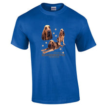 "Load image into Gallery viewer, ""Just A Dog""  Breed T Shirt Bloodhound"