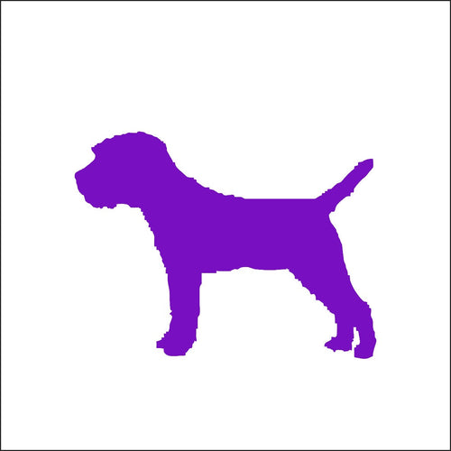 Border Terrier Dog Decal
