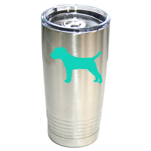 Border Terrier 20 oz.  Ring-Neck Vacuum Insulated Tumbler
