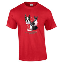 "Load image into Gallery viewer, ""Just A Dog""  Breed T Shirt Boston Terrier"