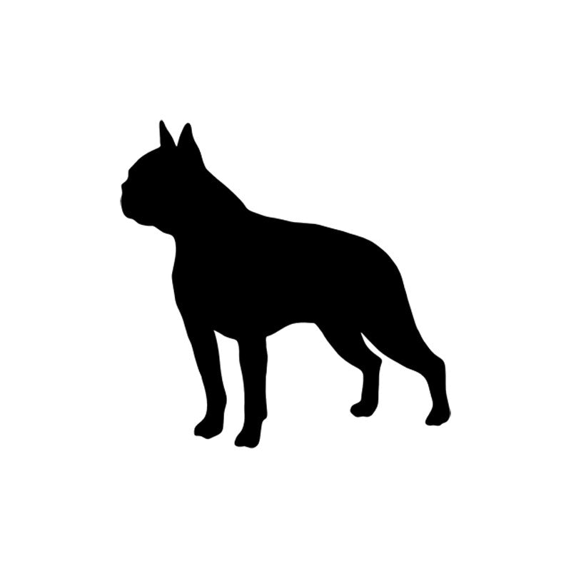 Boston Terrier Dog Decal