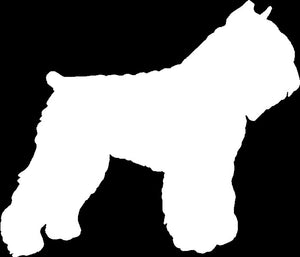 Bouvier Dog Decal