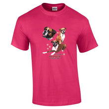 "Load image into Gallery viewer, ""Just A Dog""  Breed T Shirt Boxer"
