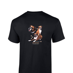 """Just A Dog""  Breed T Shirt Boxer"