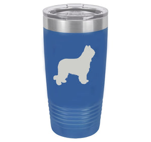Briard 20 oz.  Ring-Neck Vacuum Insulated Tumbler
