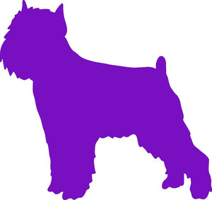 Brussels Griffon Dog Decal