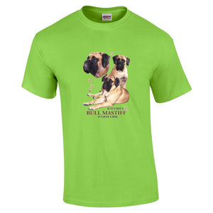"""Just A Dog""  Breed T Shirt Bull Mastiff"