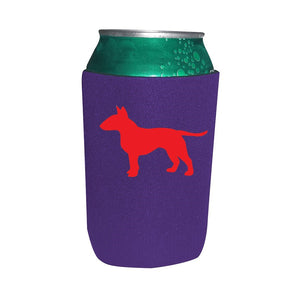 Bull Terrier Koozie Beer or Beverage Holder