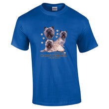 "Load image into Gallery viewer, ""Just A Dog""  Breed T Shirt Cairn Terrier"
