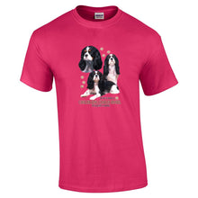 "Load image into Gallery viewer, ""Just A Dog""  Breed T Shirt Cavalier King Charles Spaniel"