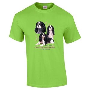 """Just A Dog""  Breed T Shirt Cavalier King Charles Spaniel"