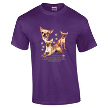 "Load image into Gallery viewer, ""Just A Dog""  Breed T Shirt Chihuahua"