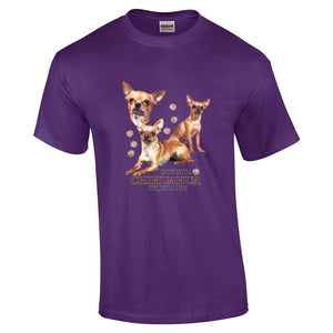 """Just A Dog""  Breed T Shirt Chihuahua"